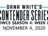 Contender Series 2020 Season 4 Week 8 live stream